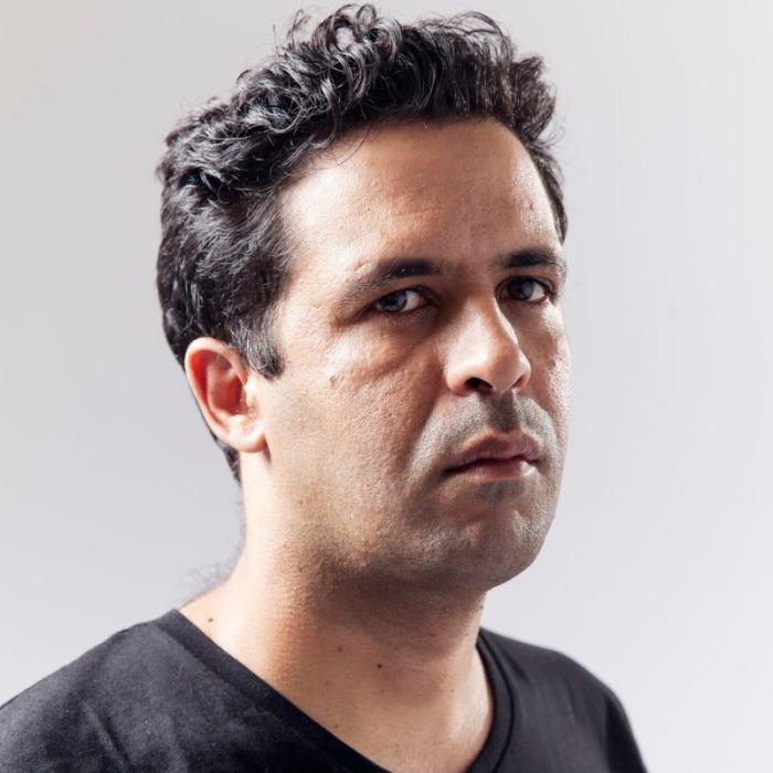 Bruno Vieira Amaral fotografado por Eduardo Martins no festival literário de Macau